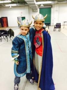 Elliot and Devon Lightning Strike Kids Opera Company
