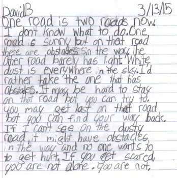 David-B-writing